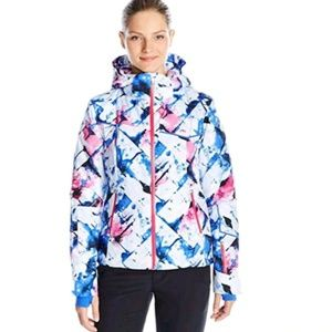 NWT! Spyder Winter Ski Jacket  FBG/VOI/BLN